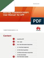 1105_eSurvey(APP) Guide-book V300R005C00SP1-PPT