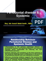 Periodontal Disease & Systemic, 19 Mei 2017 Revisi