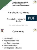 Ventilación 1 - Propiedades Del Aire y Gases