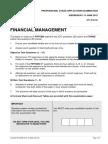 Financial Management June 2012 Exam Paper ICAEW