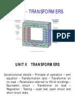 Unit 2 Transformer
