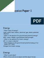 Physics Paper 1 Crammer