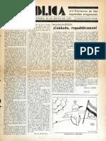 4. República, 4 (30 de Mayo de 1931)