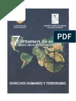 ¿Se puede combatir el terrorismo con la paz y los Derechos Humanos?