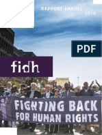 RAPPORT ANNUEL FIDH 2016