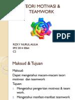 Teori Motivasi & Teamwork