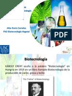 Biotecnología historia