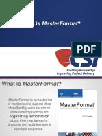 2013-07-17 MasterFormat.ppt