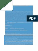 Modelo de Escrito de Proposición de Puntos Controvertidos