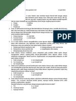 Ujian Materikulasi Program Profesi Apoteker UAD 13 April 2016