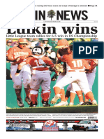 Lufkin wins! Little League team rallies in 6-5 win in US Championship