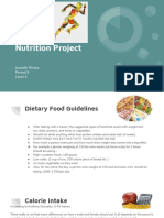 nutrition project level 4-jeaneth rivera