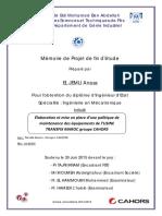 Elaboration Et Mise en Place d - EL JEMLI Anass_2921