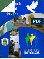 Plan de Desarrollo 2016 - 2019 Tierrralta