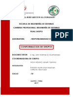 Conformación de Grupos, Cuestionario Ingeniería de Sistemas, Plan de Salida