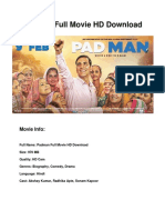 Padman Full Movie HD Download
