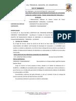 Acta de Entrega de Terreno Villayaulipunco