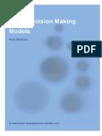 Fme Top 5 Decision Making Models