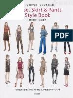 Blouse, skirt, pantstylebook by Bunka.pdf