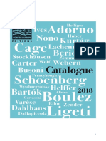 Catalogue editoriel contrechamps