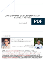 Review of Contemporary Environmentalism in Indian Context by Rajiv Rawat