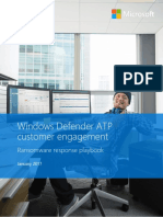 Windows Defender ATP - Ransomware Response Playbook