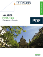 Site_Brochure de Presentation Master FINANCE 2018