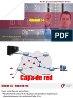 Unidad 04 - Capa de Red (Hasta FLSM)