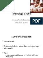 Toksikologi Alkohol