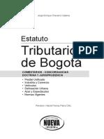 Estatuto Tributario Bogota 2014