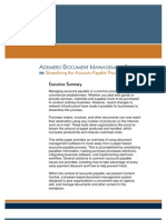 Ademero Document Management Software - Streamlining Accounts Payable