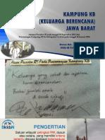 Sosialisasi Kampunhg Kb 2018