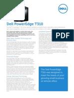 Server Poweredge t310 Specsheet En