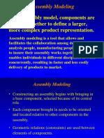 Assembly ModelingRev2