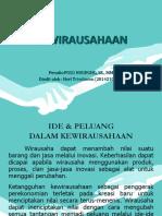 m5 Ide & Peluang Dlm Kewirausahaan