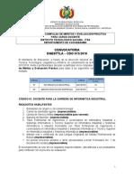 Convocatoria Compulsa Docentes Itsa 075 (1)