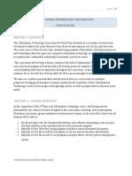 Curriculum 3rd Form