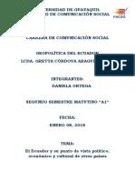 Geopolitica - El Ecuador