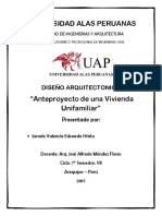 Caratula UAP Diseño Arquitectonico