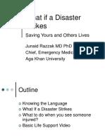 Karachi - Individual Response to Disaster