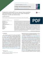 Comparative Performance of Trace Element Bioaccumulation Phragmites Typha and Arundo