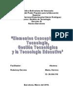 Informe Gestion de Tecnologia