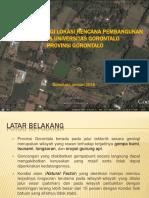 Paparan Investigasi Geologi Teknik Dan Bencana Geologi Gorontalo 2016