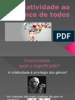 Oficina Criativa - Criatividade Ao Alcance de Todos