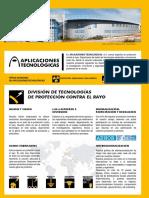 Catálogo Aplicaciones tecnológicas
