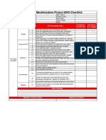 Wireless and Driving Checklist