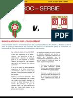 Brochure Francese Marocco Serbia