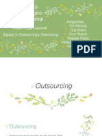 Outsourcing y Downsizingterminado