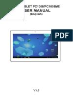 English Manual for Tablet Titan 1008me.v1-2013.12.31