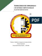 ISC TBD Práctica 3